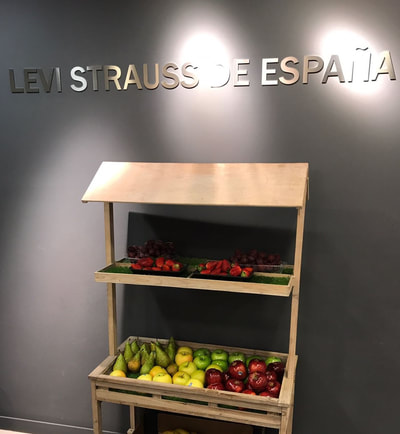 Fruta en la oficina con Dacara Corporate Events